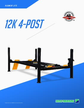 12K Four Post Lift Brochure