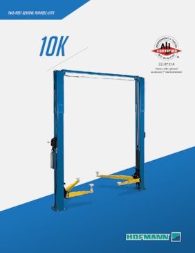 Lifts - 10k Two Post Brochure