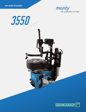 Tire Changers - monty® 3550 Series