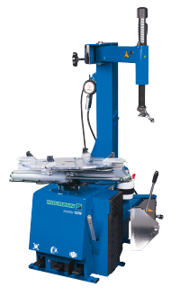 New Hofmann monty 1270 Tire Changer: Space-Saving Solution for General Repair Shops