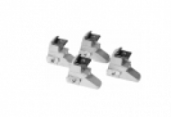 "Motorcycle adaptors, for centre jaws;<br>set of 4<br>For TC with new 20"" turntable<br>Hofmann standard TC + T1 from 11.01.2010;<br>Boxer, JB, SO standard TC from 17.05.2010, <br>GT / GS / BS TC from 07.06.2010"