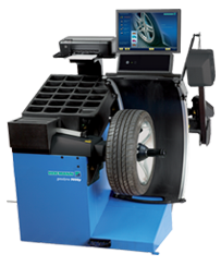 Geodyna 9000p - Diagnostic Wheel Balancer