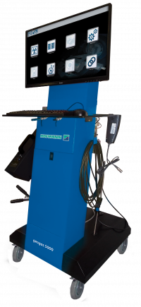 The Hofmann geogas 5000 emissions analyser is a state-of-the-art unit with multiple uses in the workshop.