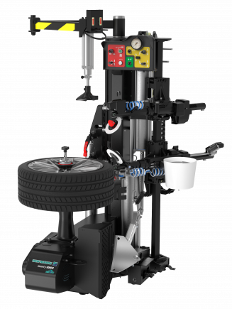 The new monty 8800S smartSpeed professional tyre changer with innovative leverless mount and demount system is the perfect choice for high-volume tyre shops for handling standard manufacturer, ultra-low profile tyres and tyres with high aspect ratio.