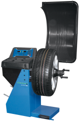 The HOFMANN geodyna 7100M is a digital wheel balancer for motorcycles that combines the expected HOFMANN brand accuracy with a small footprint and value for money.