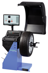 The Hofmann geodyna 7200 is a video wheel balancer for cars, light trucks and motorcycles.