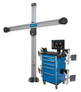 Our redesigned geoliner 670 XD wheel alignment system features improved camera and target technology, the smallest and lightest XD target system we've ever offered, and our proven conventional imaging aligner design.