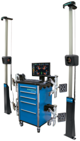 The premier alignment system in the Hofmann range is the geoliner 790 XD, the most precise and compact system on the market.