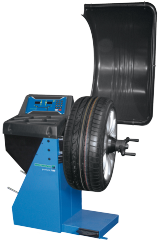 The Hofmann geodyna 7100 is a digital wheel balancer for cars, light trucks and motorcycles.