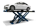 The Hofmann dual revenue scissor lift can be configured as an ATL/MOT lift, a dedicated alignment lift, or have both options to provide more opportunities to workshops.