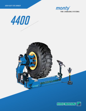 Tire Changers - monty® 4400 Series