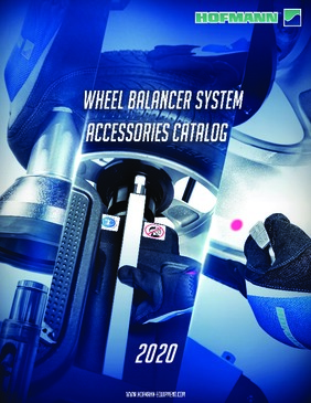 Wheel Balancer Accessory Catalog