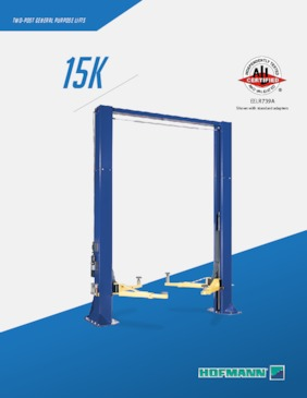 Lifts - 15k Two Post Brochure