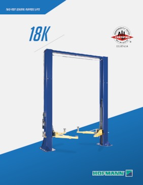 Lifts - 18k Two Post Brochure