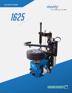 Tire Changers - monty® 1625 Series