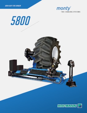 Tire Changers - monty® 5800 Series