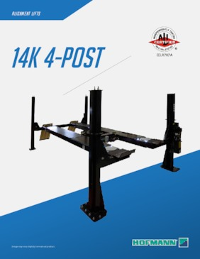 Lifts - 14k Four Post Brochure