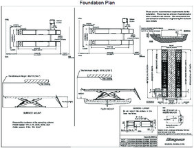 14k Scissor Foundation Plan