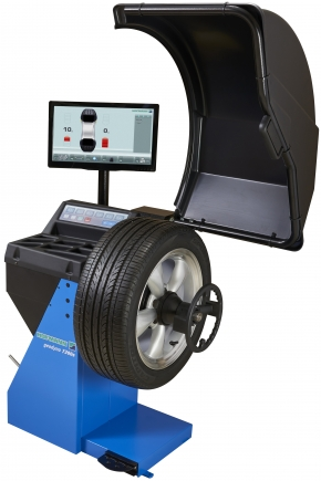 geodyna 7200s wheel balancer with lcd monitor hofmann rh us hofmann equipment com Hofmann Tire Balancer Manual Hofmann Balancer Geodyna 39