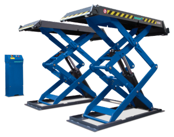 9k Double Scissor Lift with Console